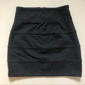 Talula Grey Tube Skirt Size 4